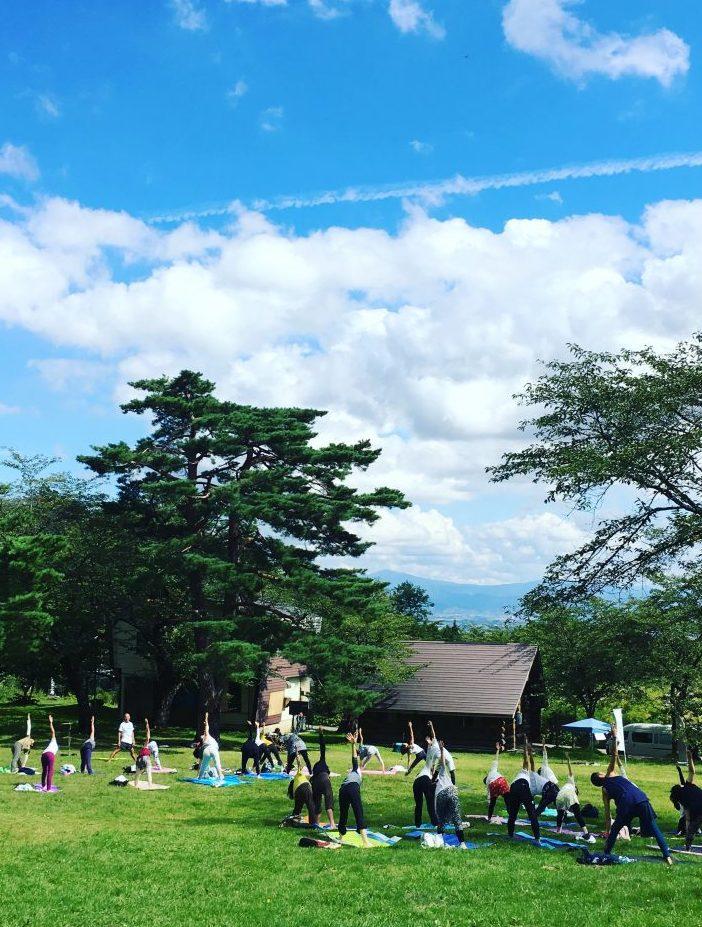 岩木山YOGA フェスティバル